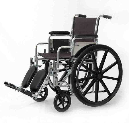 Rent a Wheelchair with Leg Rests