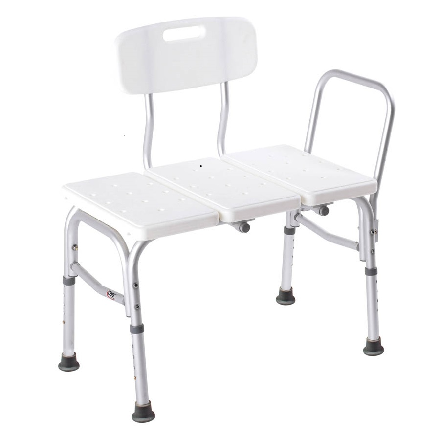 Carex adjustable bathtub transfer bench careway wellness center Bath bench