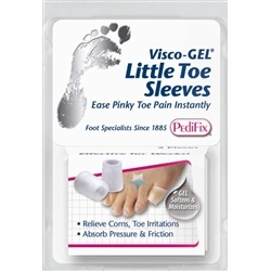 Visco-Gel Little Toe Sleeves