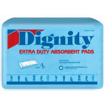 Humanicare Dignity Extra Duty Absorbent Pads