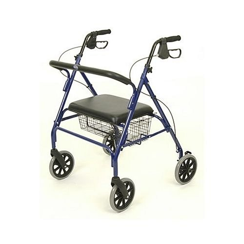 Bariatric 4-Wheel Rollator Walker