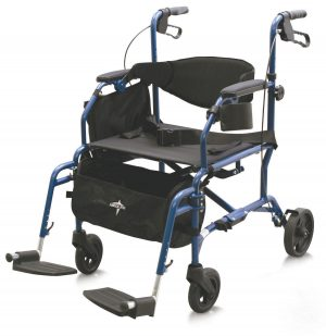 Combination Rollator/Transport Chair