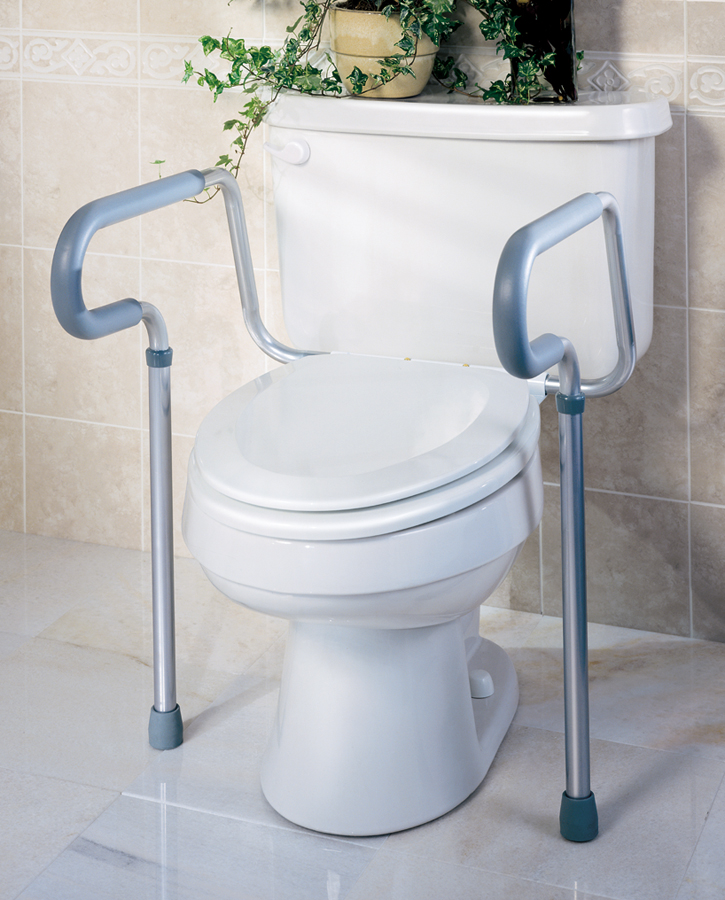 Toilet rails careway wellness center for Bathroom ideas elderly