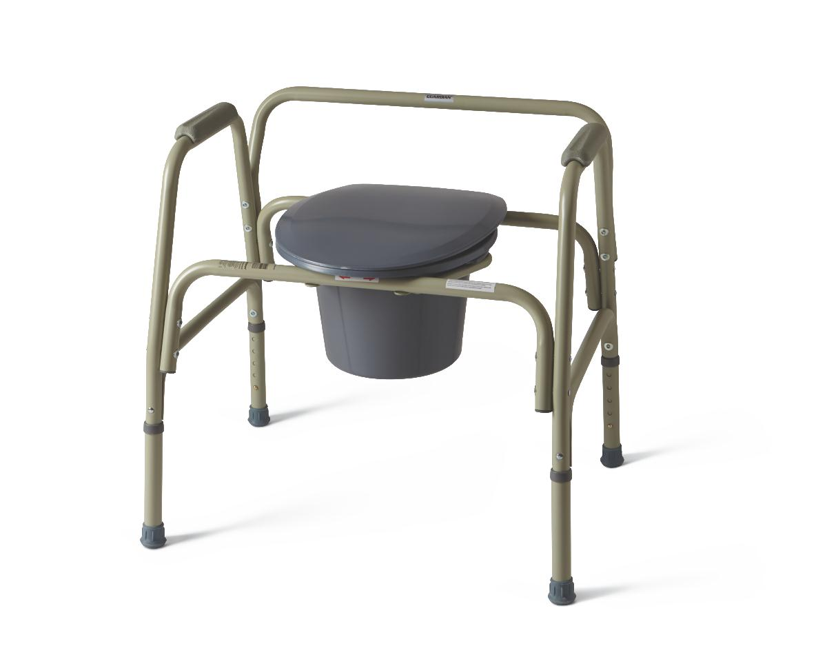 Steel Bariatric Commode Careway Wellness Center