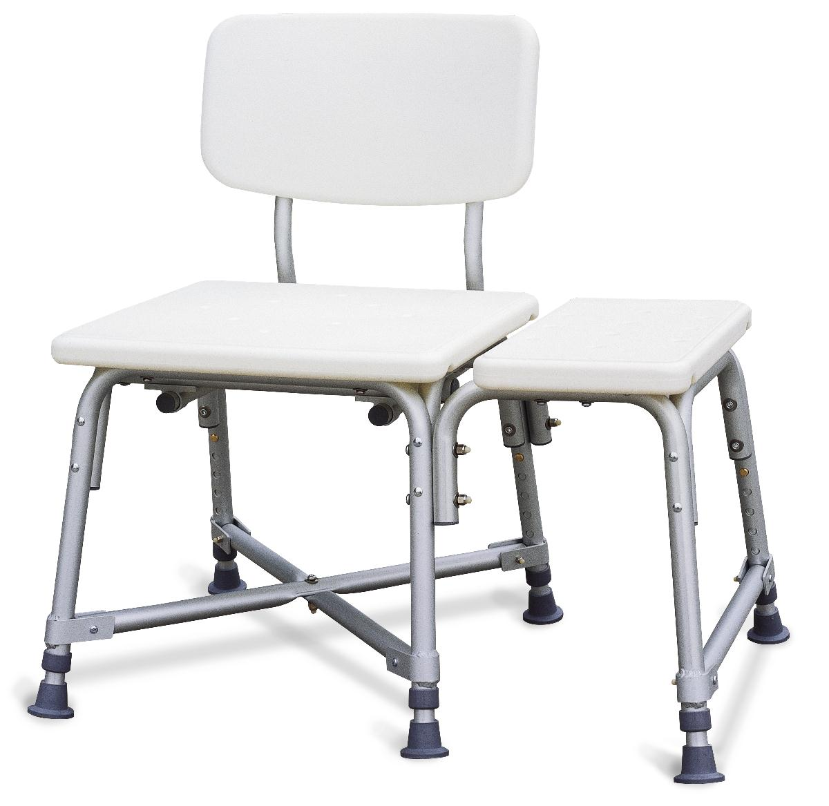 Non-Padded Bariatric Transfer Bench - Careway Wellness Center