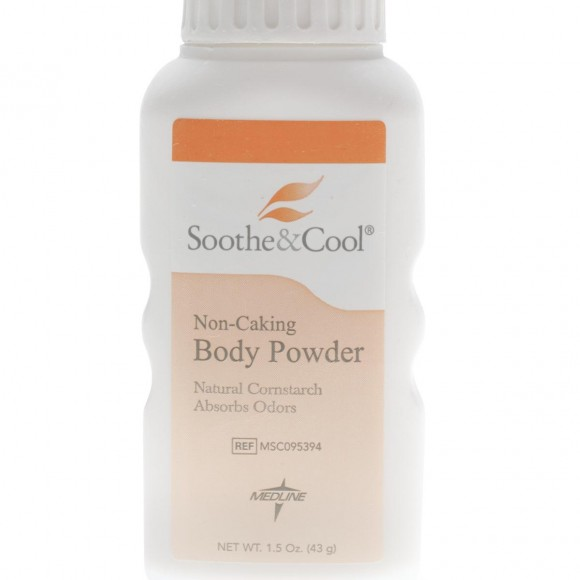Soothe & Cool Cornstarch Body Powder