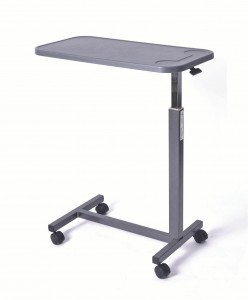 Composite H-Base Overbed Tables