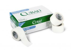 CURAD Paper Adhesive Tape,White